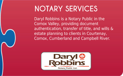 Comox Valley Notary